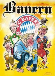 Шарж FC Bayern